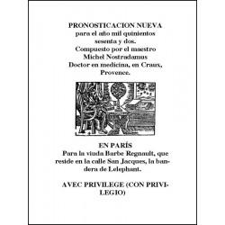 Pronosticación Nueva Para 1562  http://www.caesaremnostradamus.com/